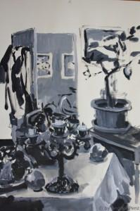 Im Atelier 2010